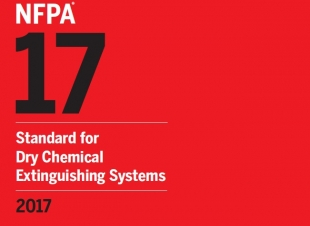 NFPA-17 Standard for Dry Chemical Extinguishing Systems